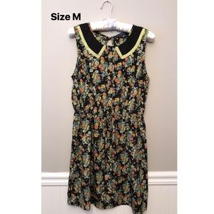 Floral Sleeveless Dress - Size Medium